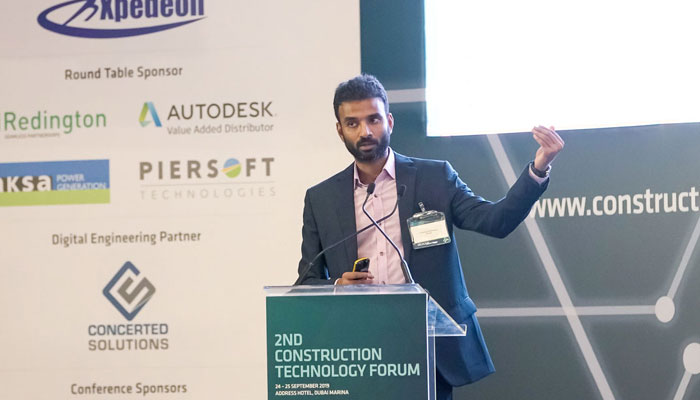 2ND Construction technology forum in dubai marina frugal innovations